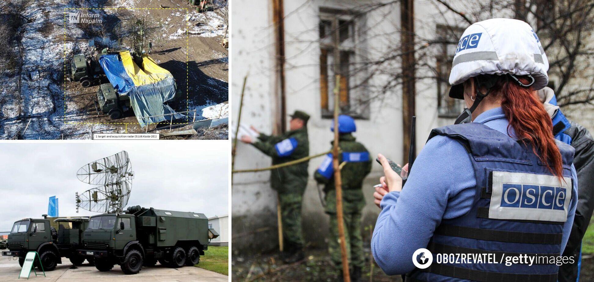 На Донбасі засікли декілька радіолокаційних станцій РФ: показано супутникові знімки