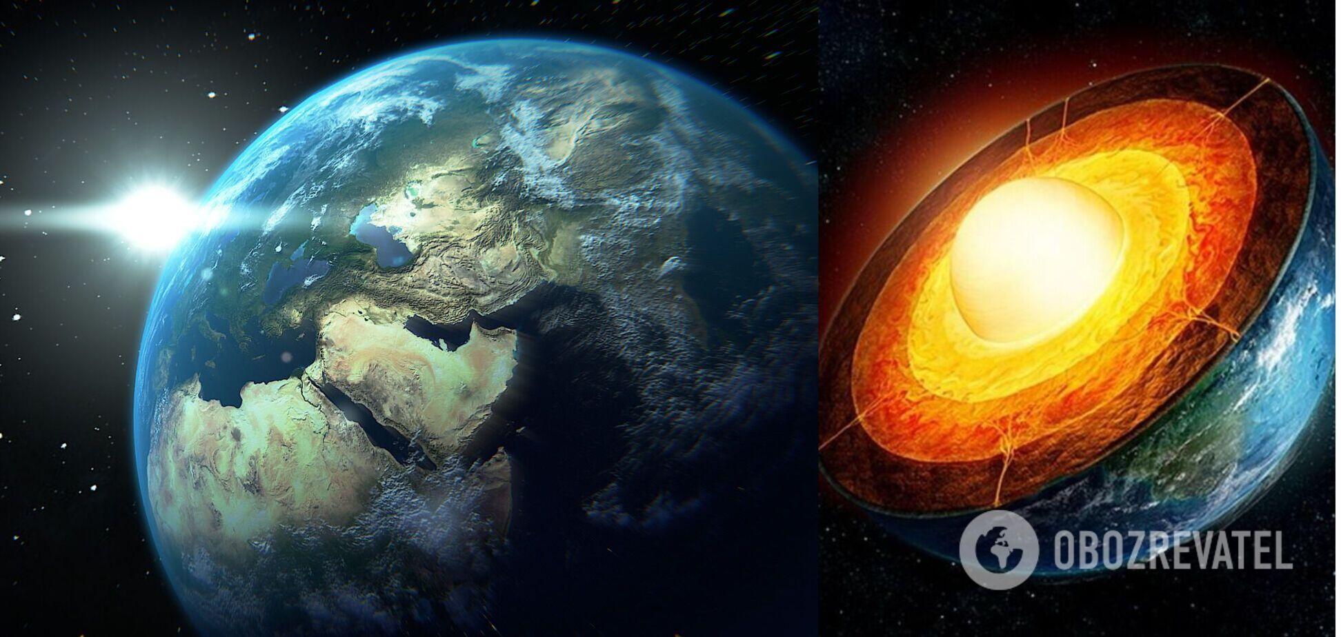 Внутри Земли нашли неизвестную скрытую структуру