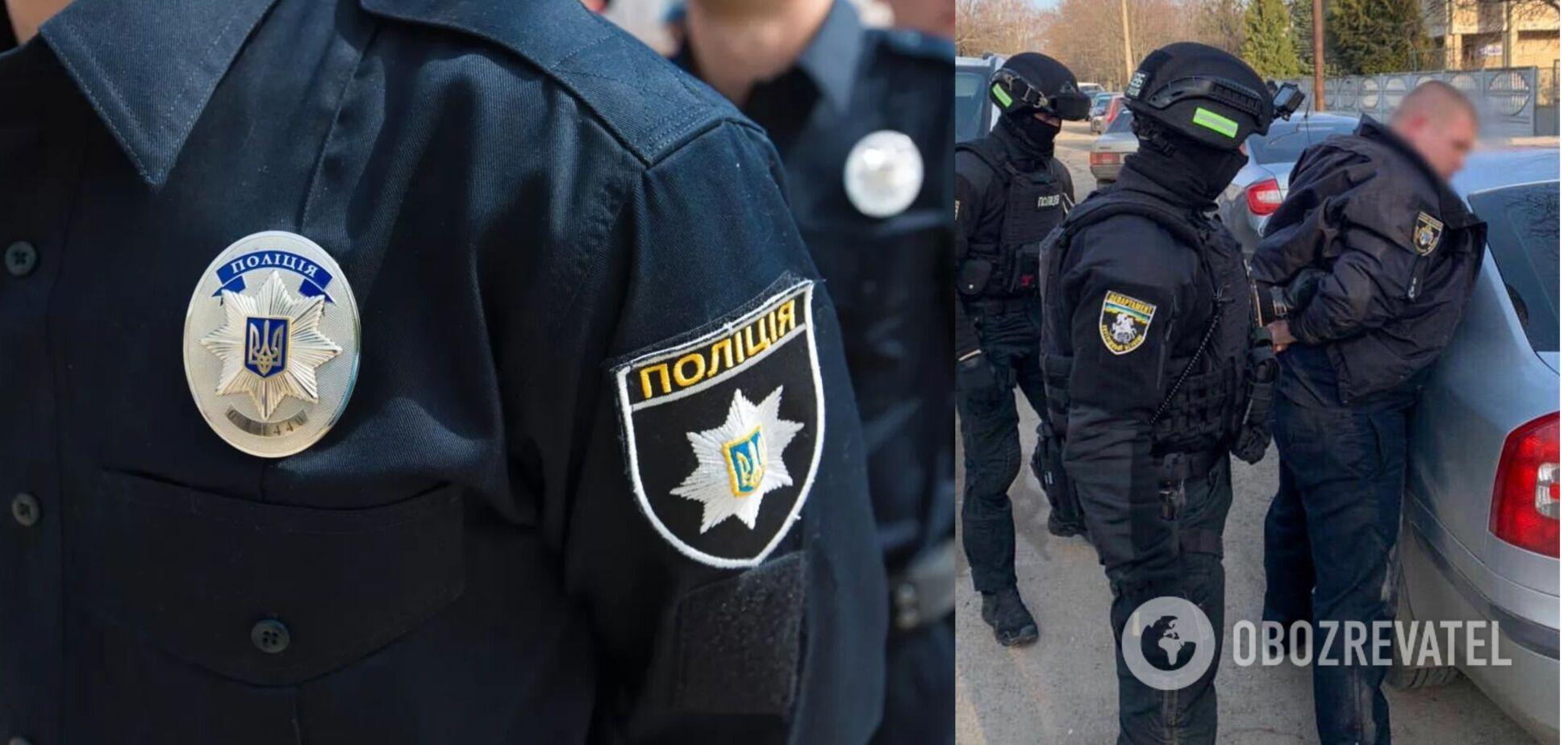 На Днепропетровщине задержали копа за 'сбор дани' с бизнеса