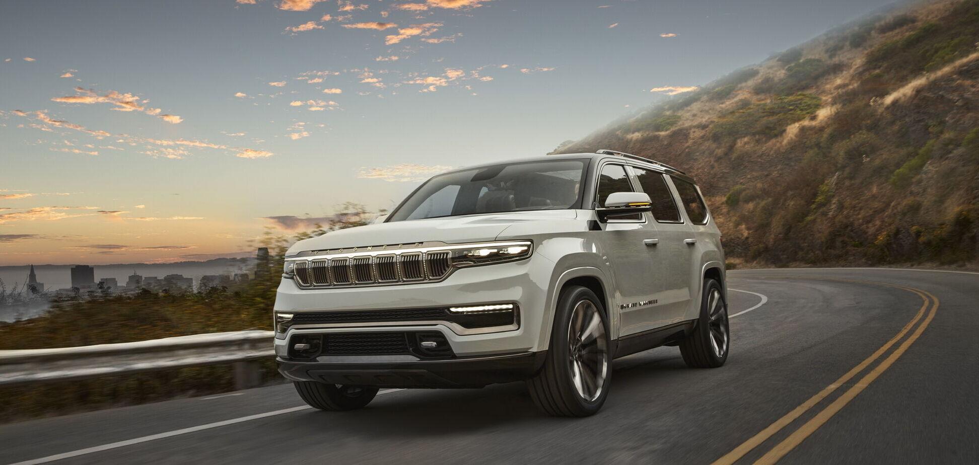 Jeep Wagoneer и Grand Wagoneer дебютируют 11 марта