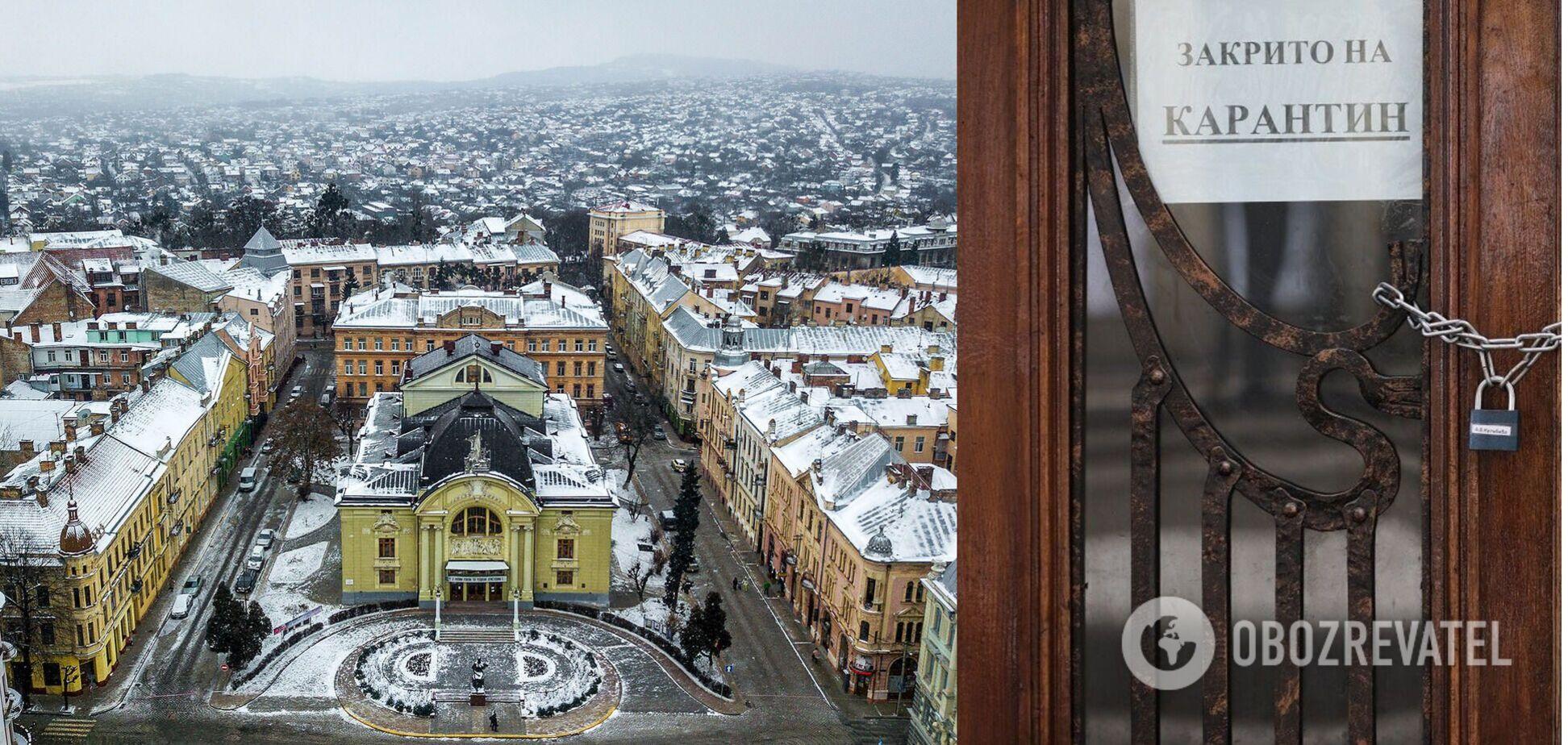 В Черновцах рестораны принимали посетителей, несмотря на карантин: руководство заявило, что это родственники