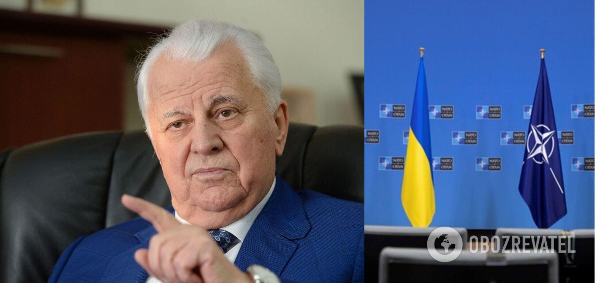Кравчук: думка Росії щодо членства України в НАТО не має жодного значення