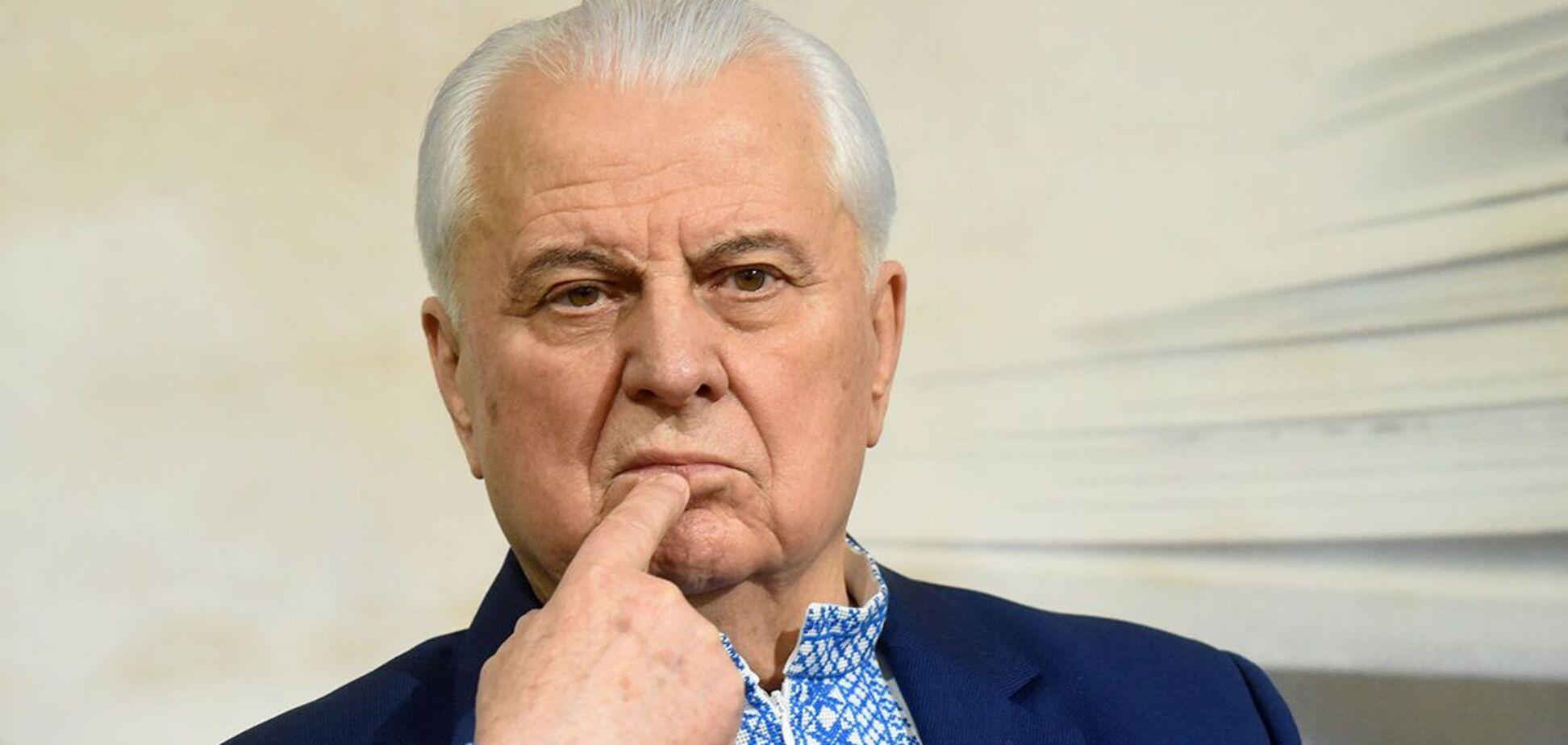 Кравчук: ситуація на Донбасі в глухому куті, потрібні радикальні кроки