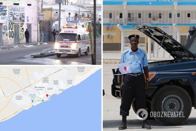 В Сомали взорвали ресторан, погибли 20 человек и 30 получили ранения. Видео