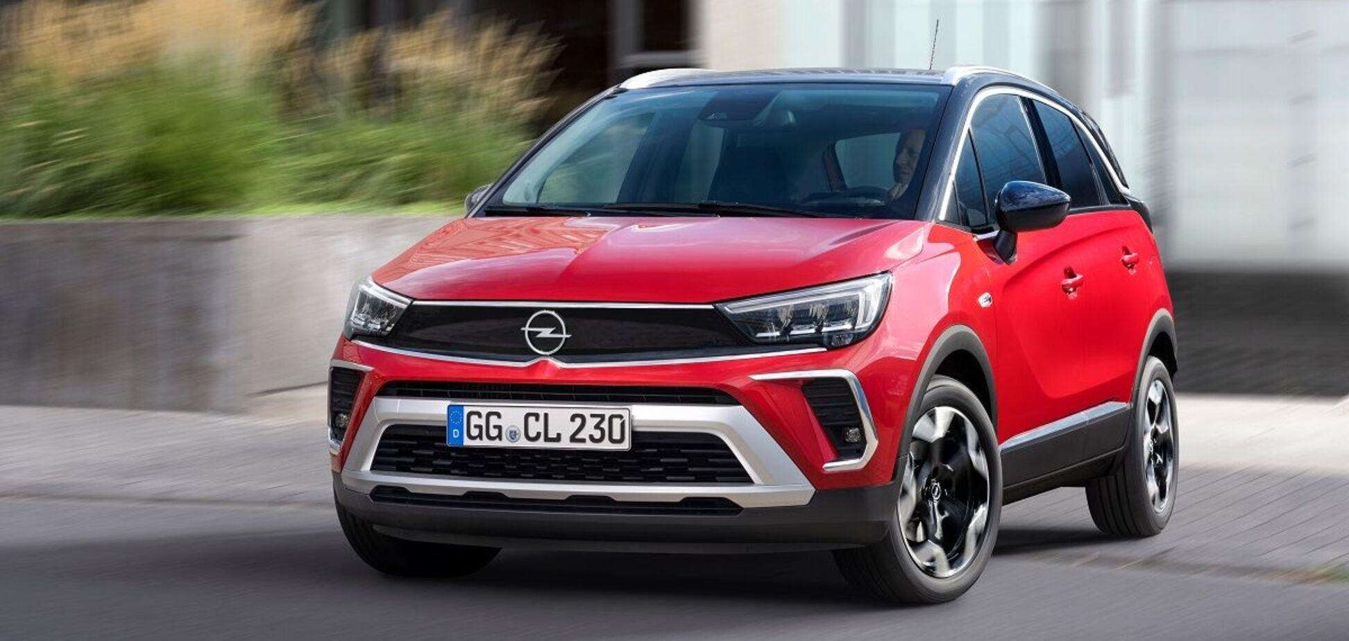 Новий кросовер Opel Crossland прибув в Україну