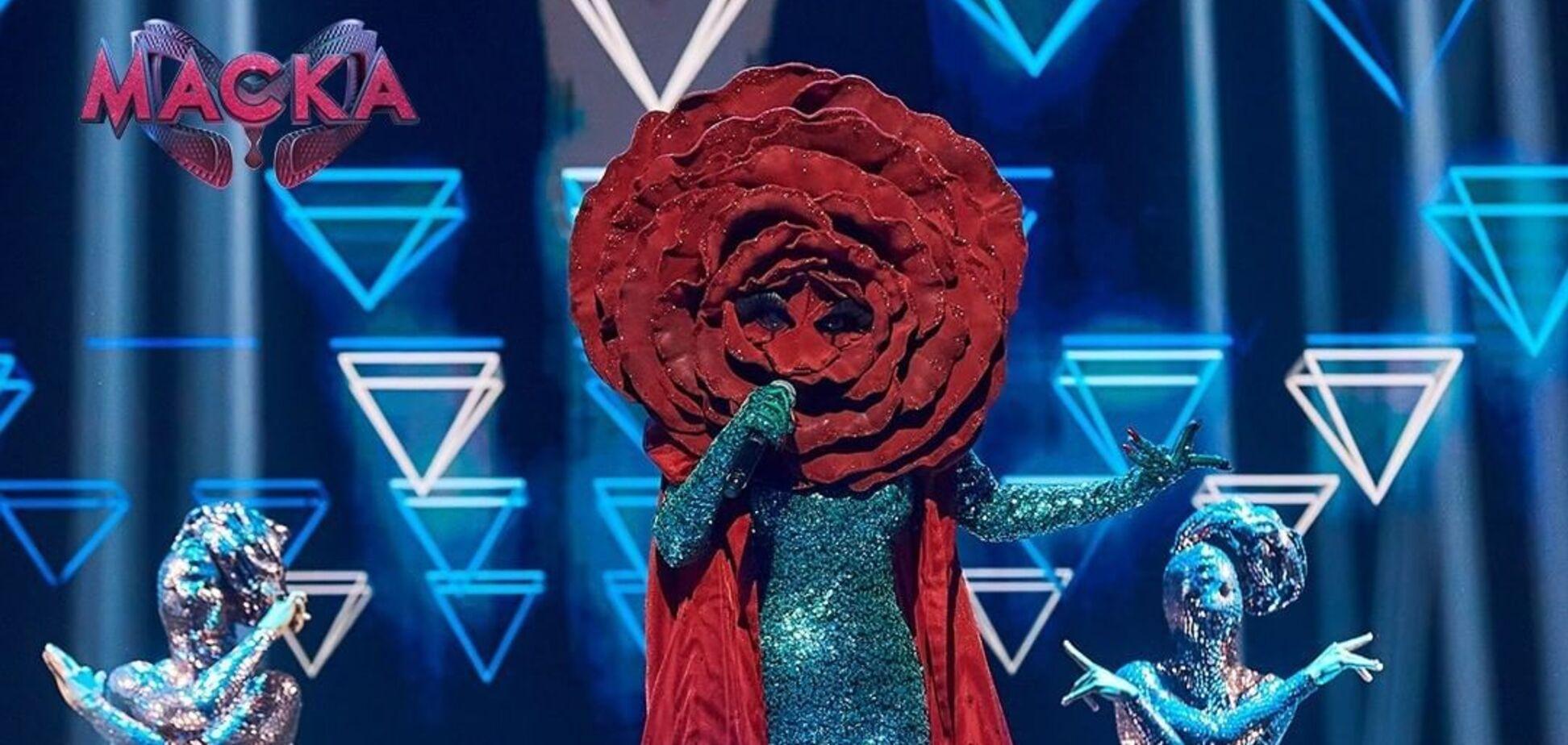 Стало відомо, хто ховався за образом Троянди в шоу 'Маска'