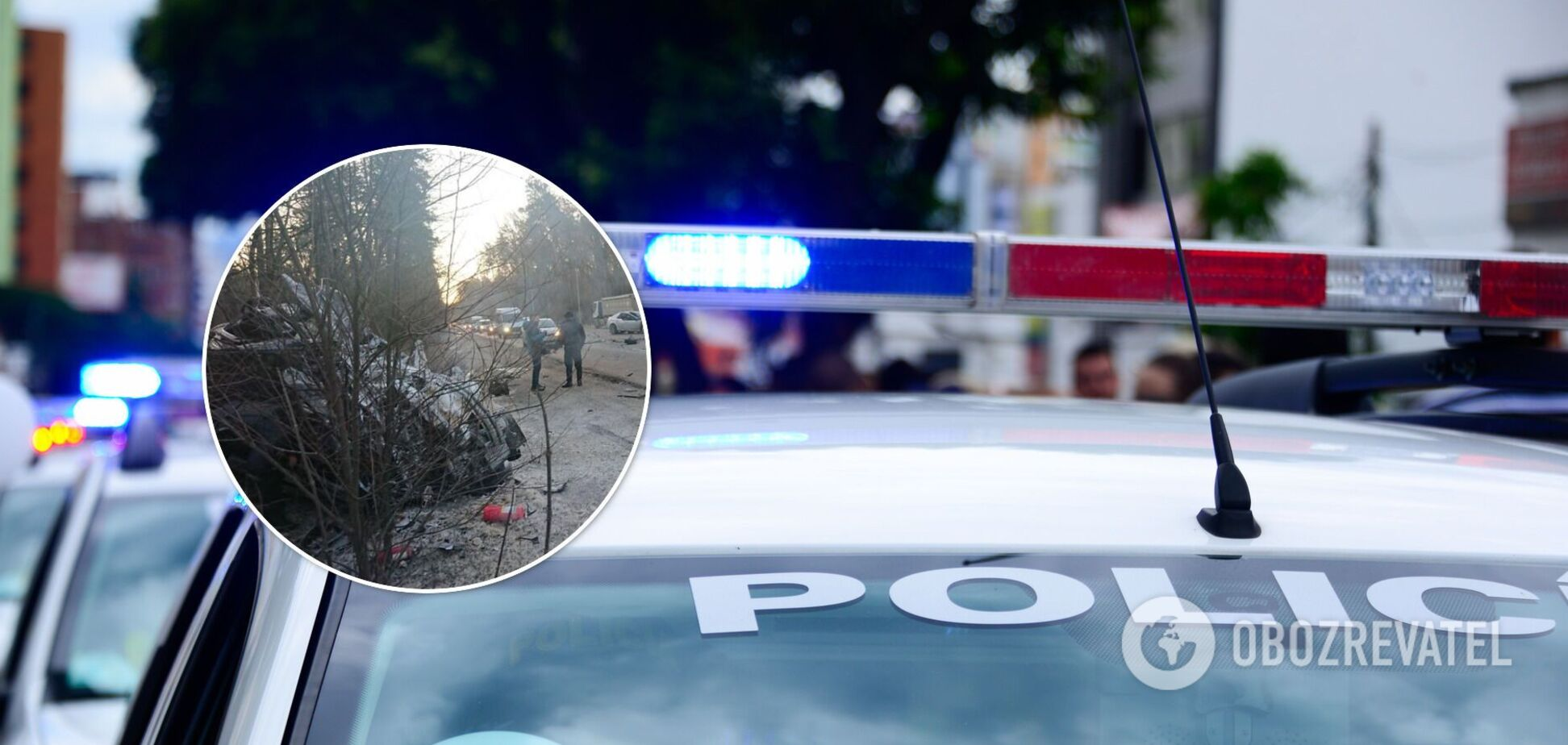 Вследствие аварии погибли водитель и пассажир Chevrolet