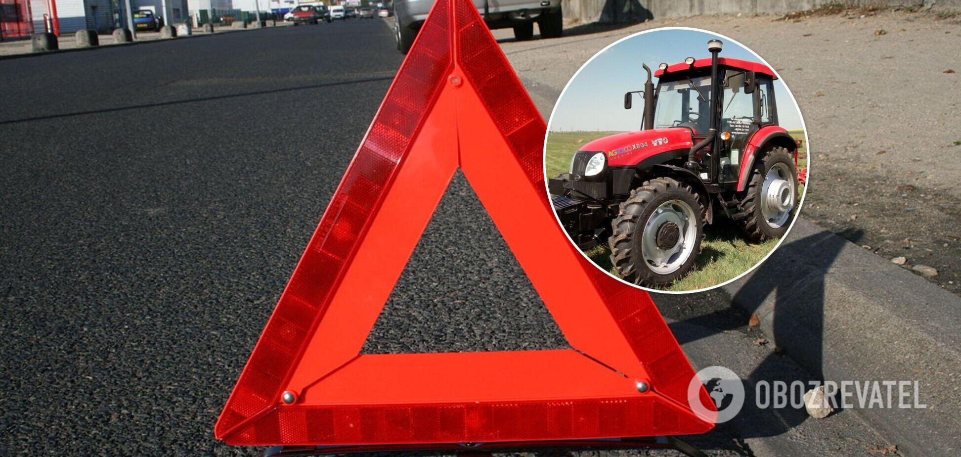 У Львові на ринку трактор збив на смерть літню жінку
