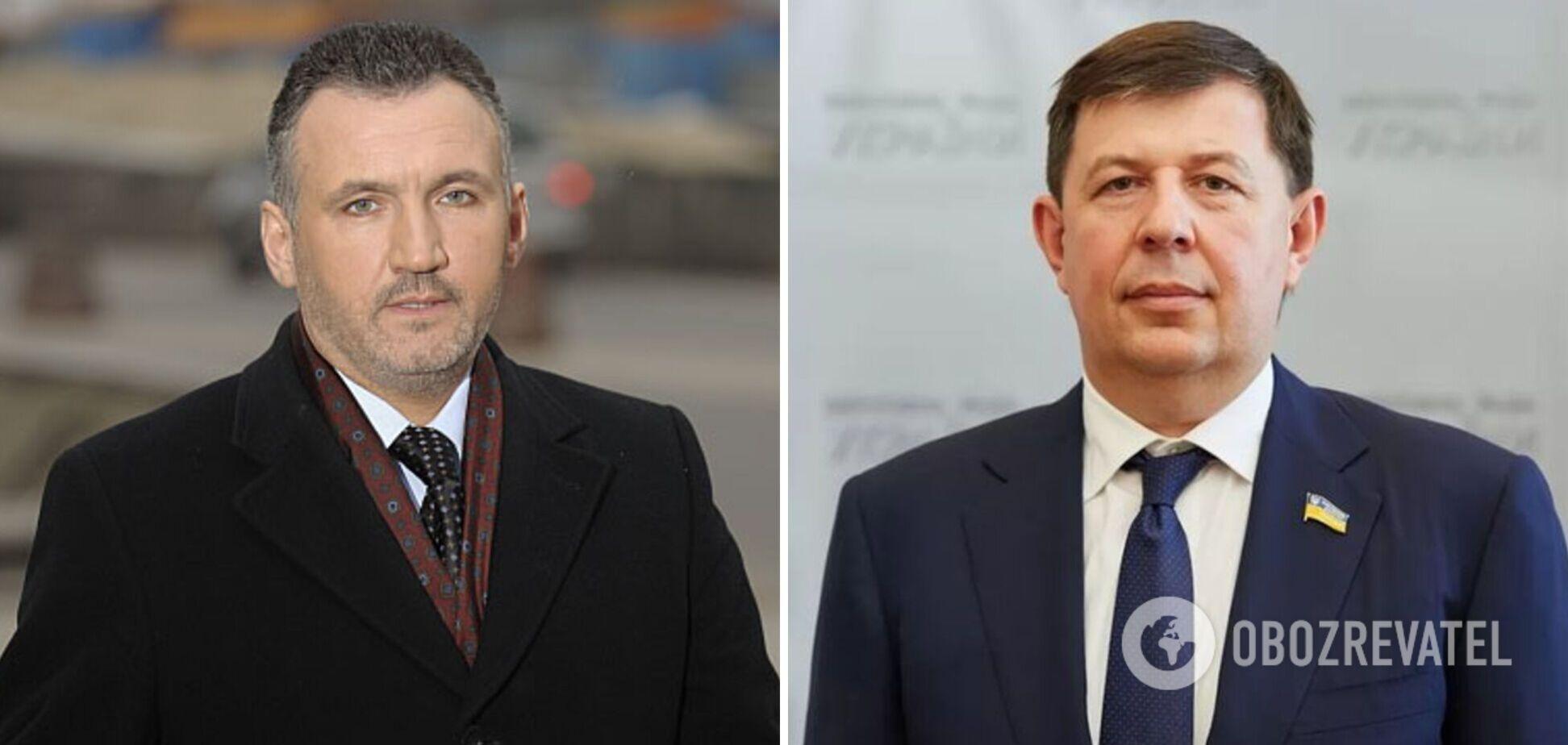 Нардепы от ОПЗЖ Ренат Кузьмин и Тарас Козак