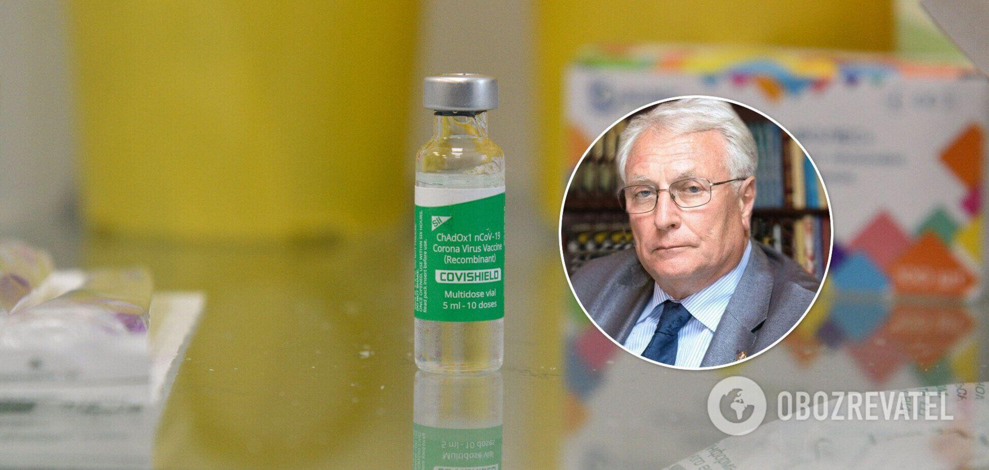 В НАН предупредили о плохих последствиях, если не вакцинировать 100 тысяч украинцев ежедневно