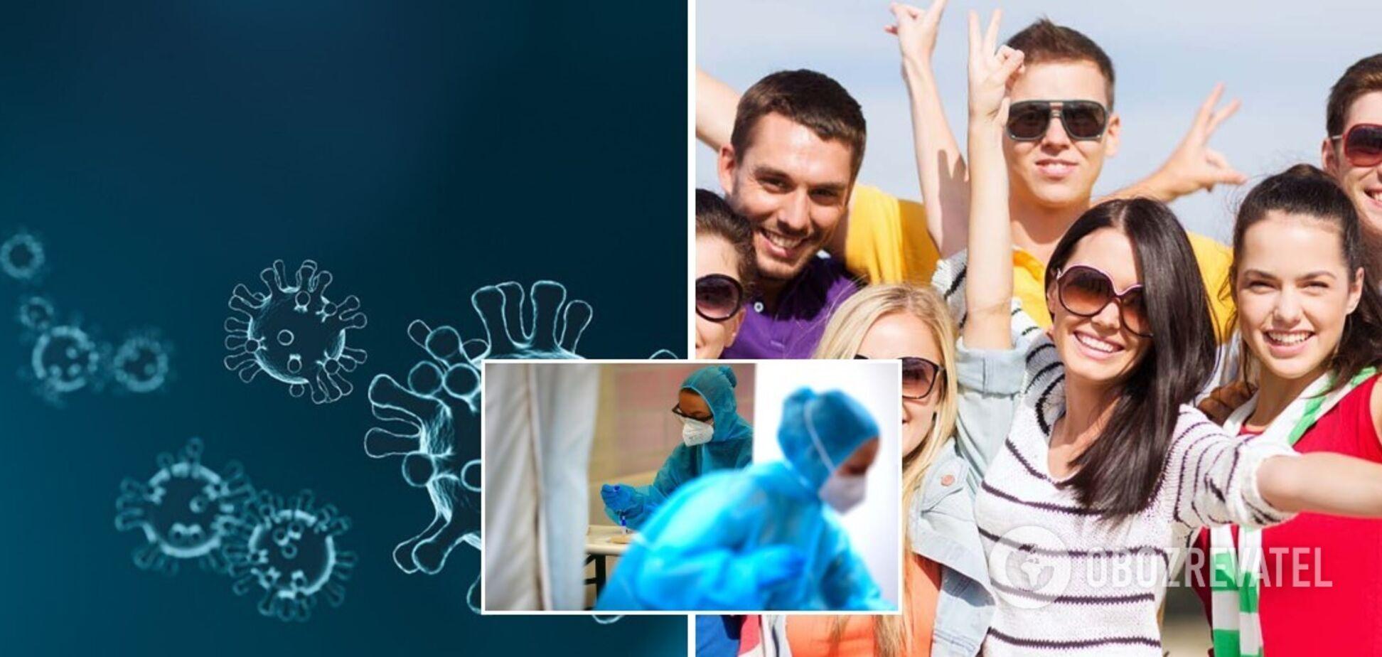 'Британським' штамом коронавірусу найчастіше хворіє молодь