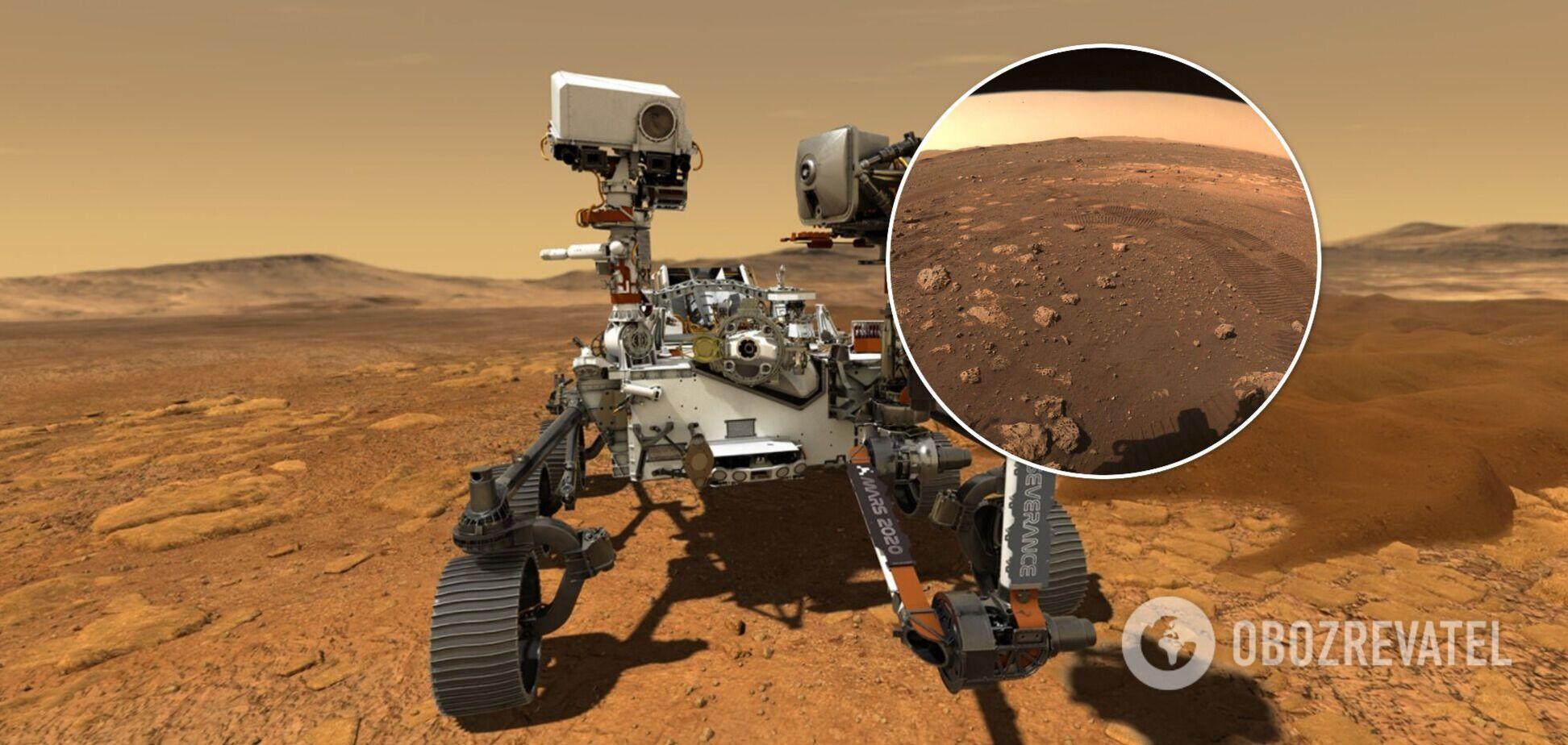 Perseverance вперше проїхався Марсом і зафільмував це