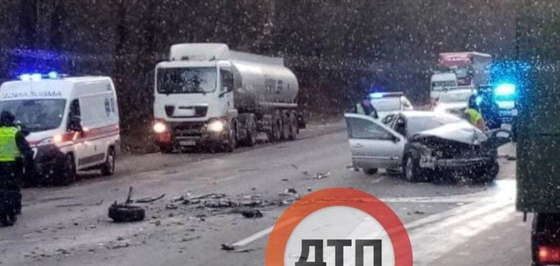 В Киеве на Гостомельском шоссе произошло смертельное ДТП