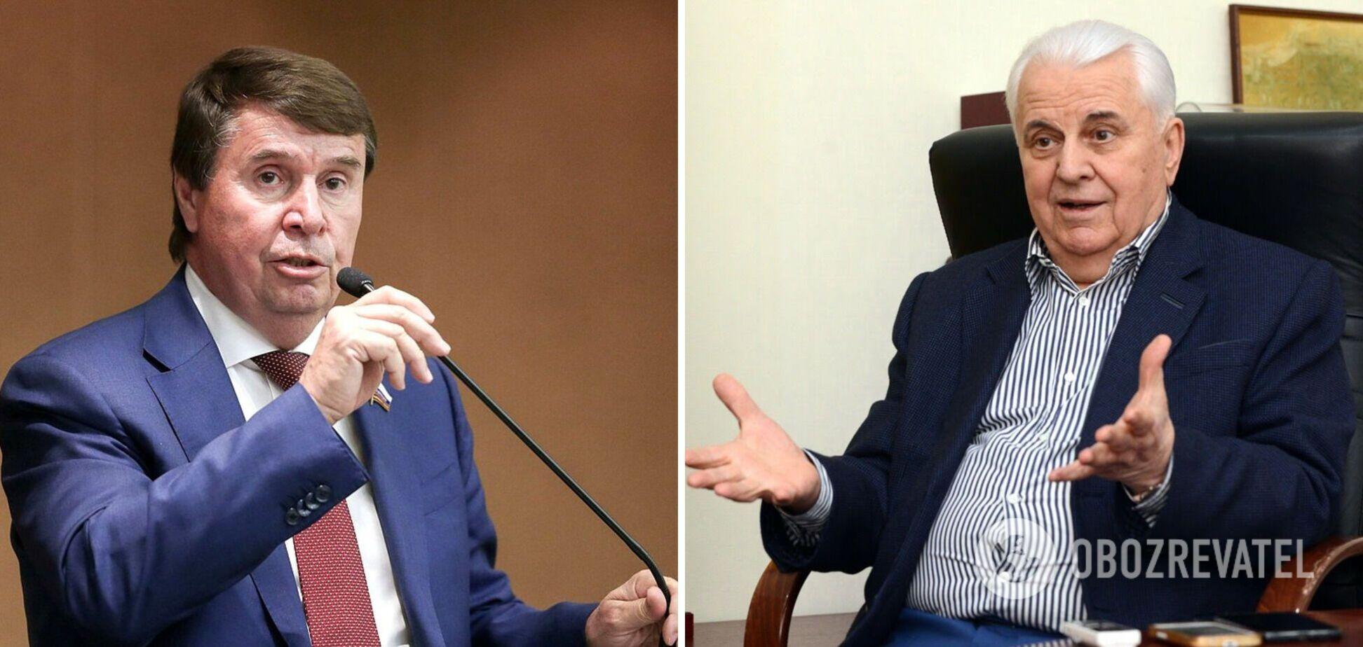 В России ответили на 'угрозы' Кравчука пойти на радикальные меры по Донбассу