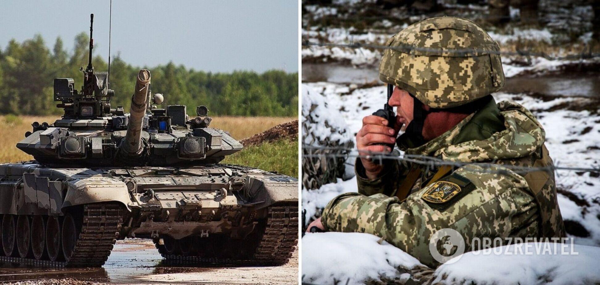 На Донбасі за добу зафіксували вісім російських танків