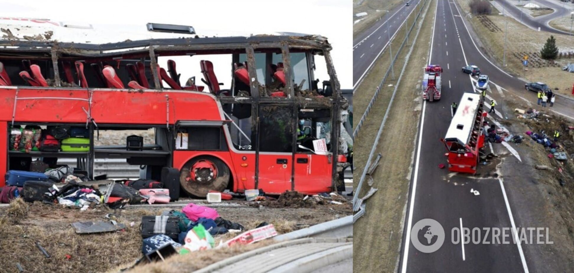 Упізнано трьох жертв із автобуса з українцями, що розбився в Польщі