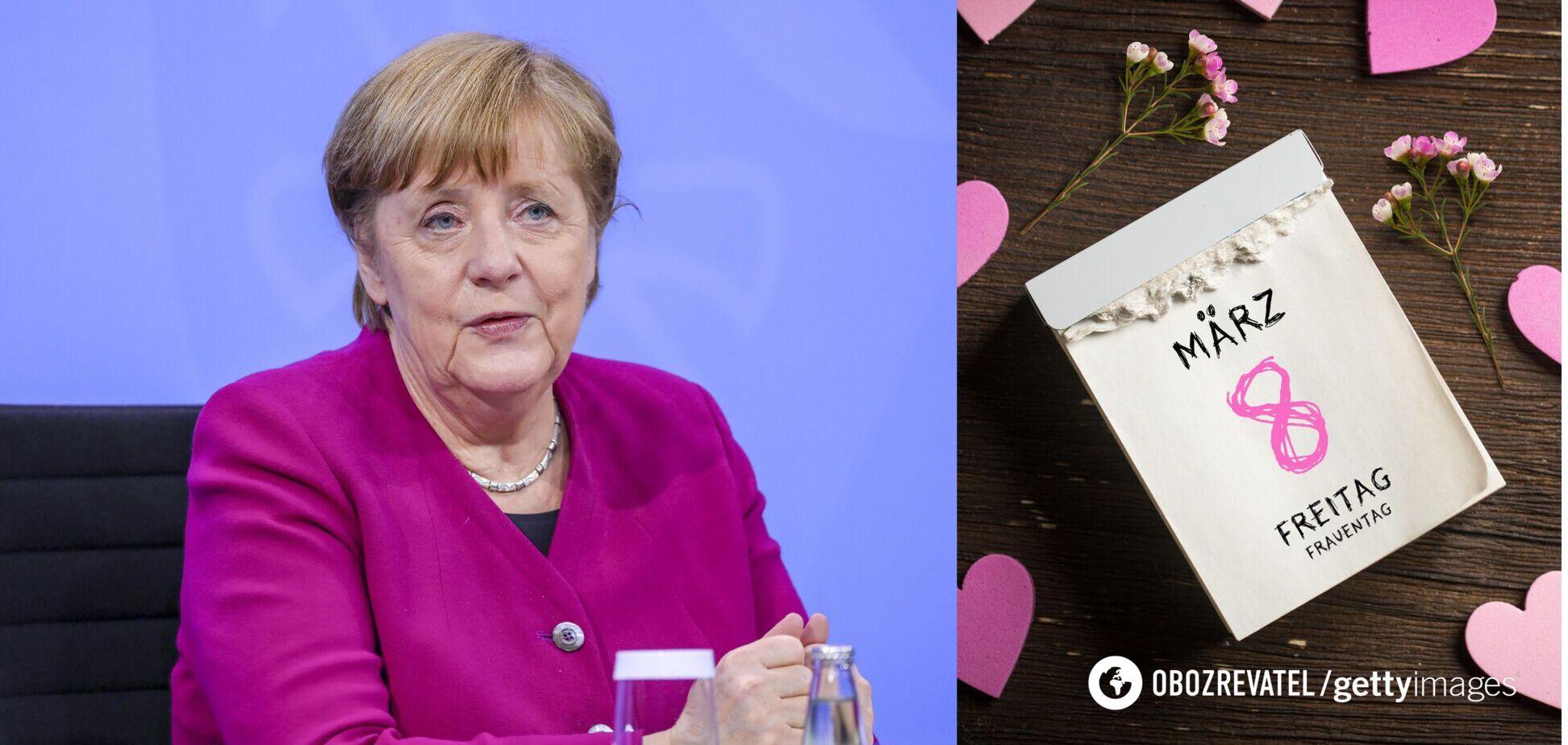 Меркель перед 8 Марта выступила с заявлением о зарплатах женщин