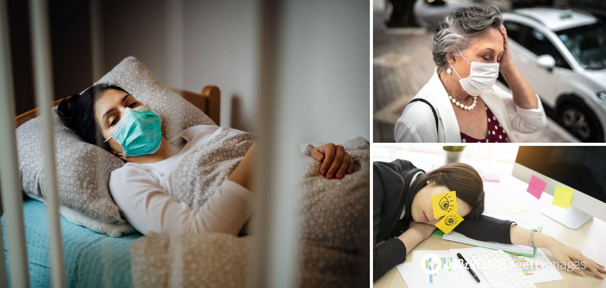 Лікар назвав поширені наслідки COVID-19: утруднення ходьби та порушення сну