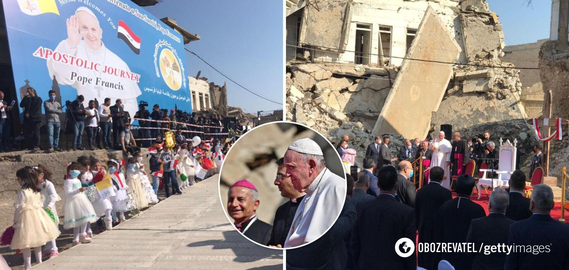 Папа Римський відвідав Мосул