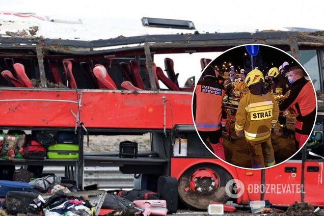 Потерпілий українець про смертельну ДТП у Польщі: водій автобуса засинав