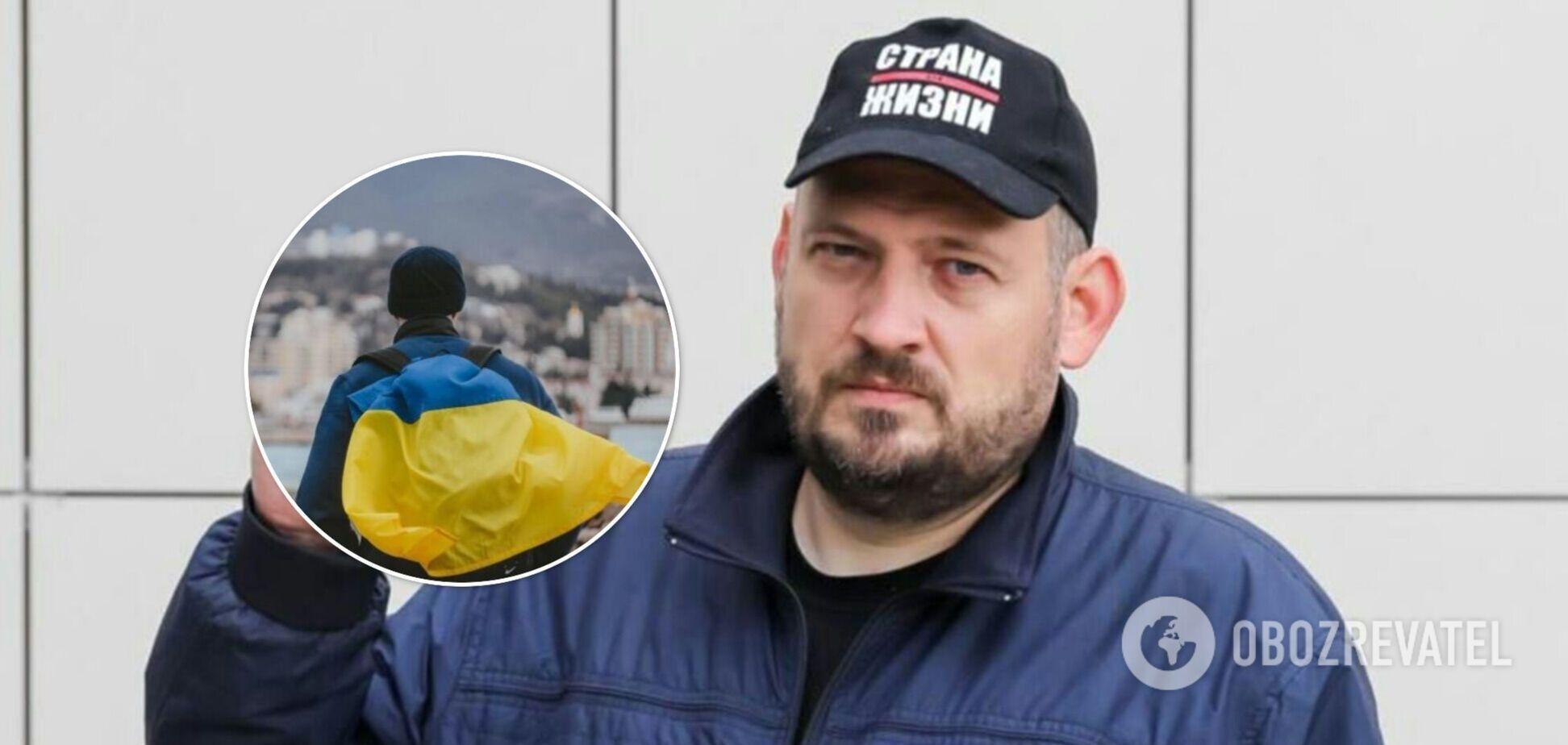 Муж Тихановской высказался о статусе Крыма и назвал российские СМИ 'огромным злом'