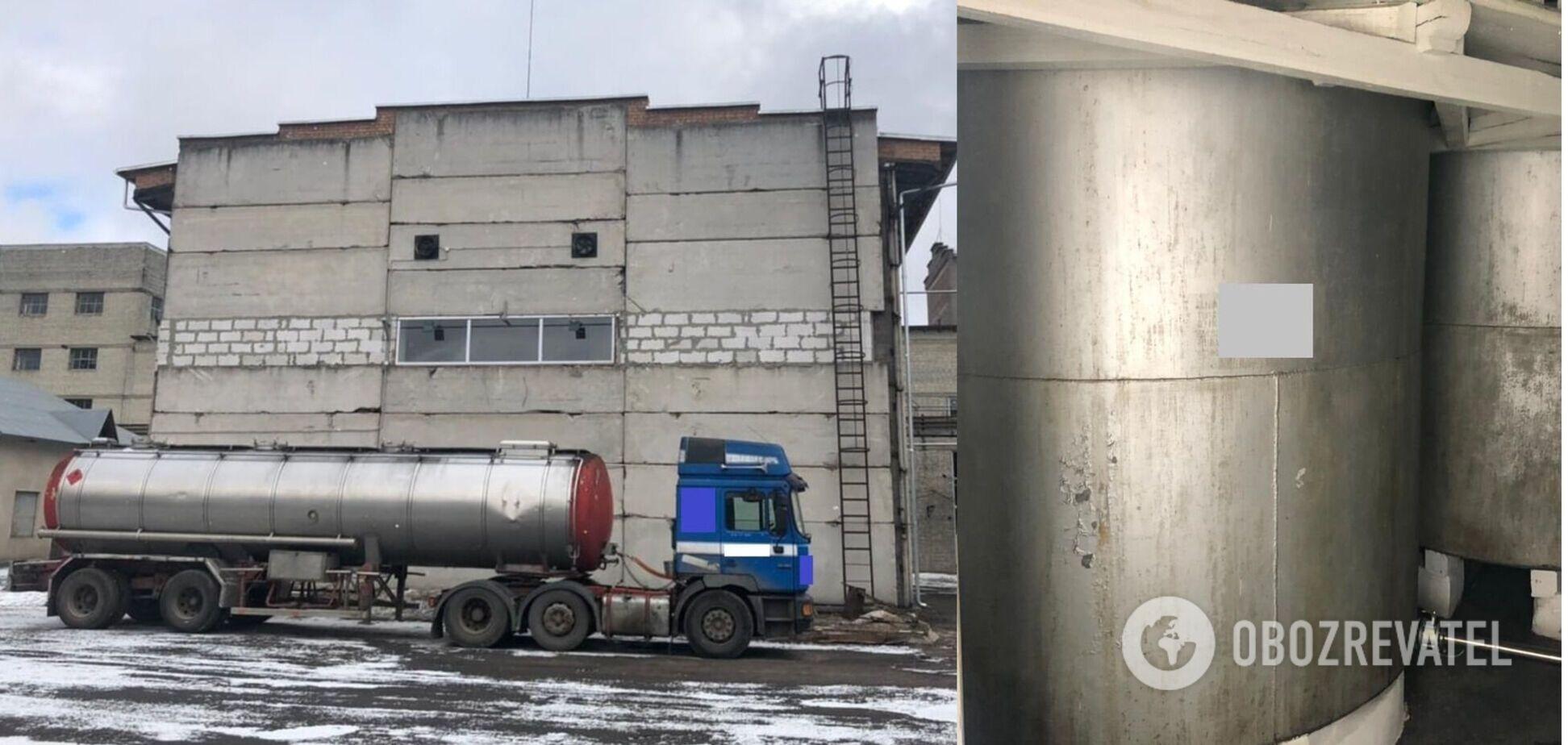 На заводі виготовляли необлікований спирт