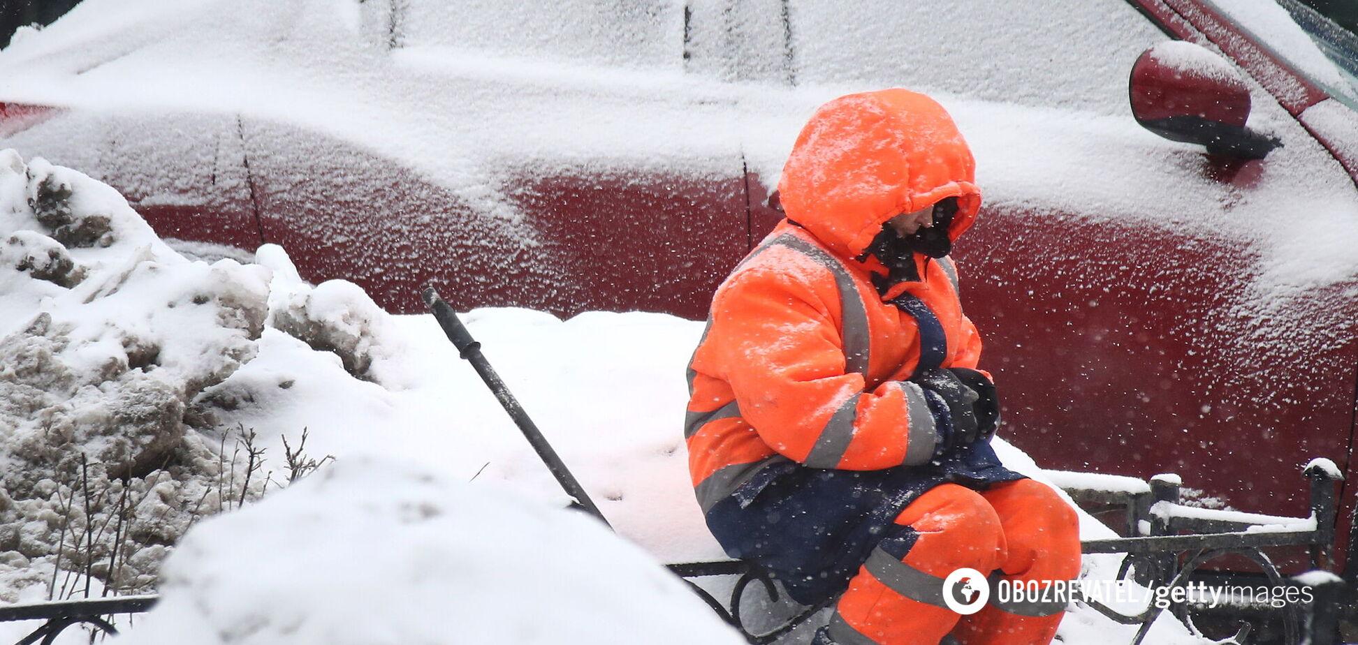 8 Березня в Україні очікується сніг