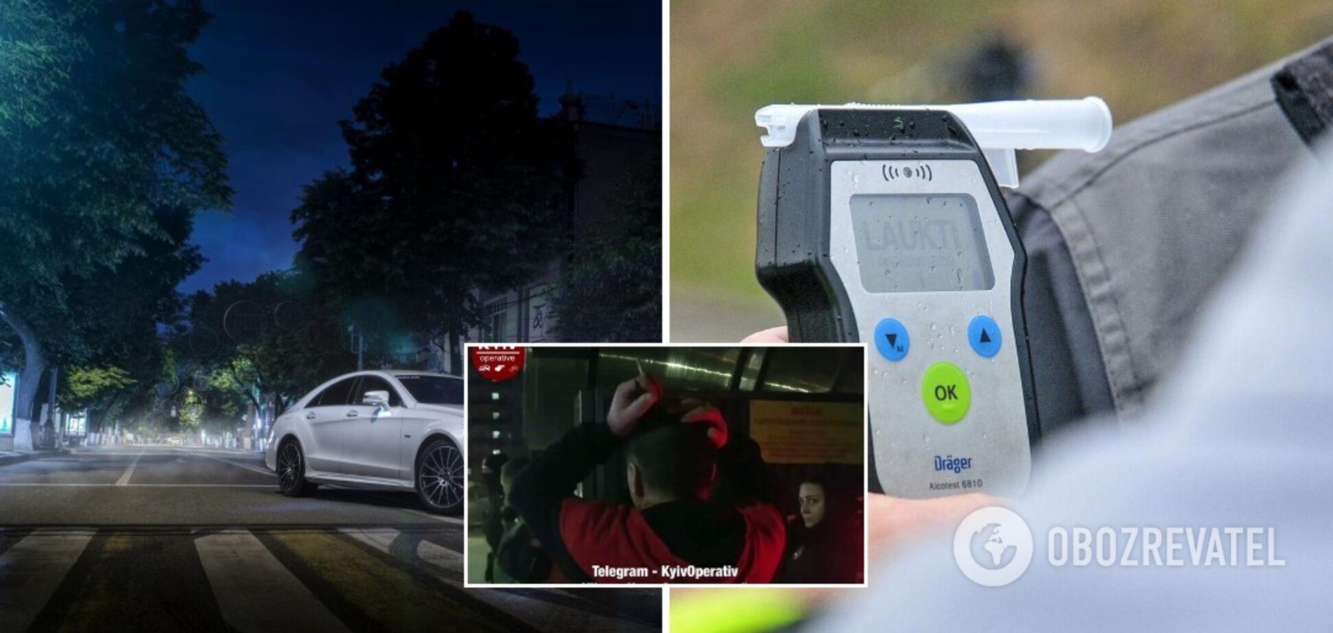 У Києві патрульні влаштували погоню за 17-річним п'яним водієм