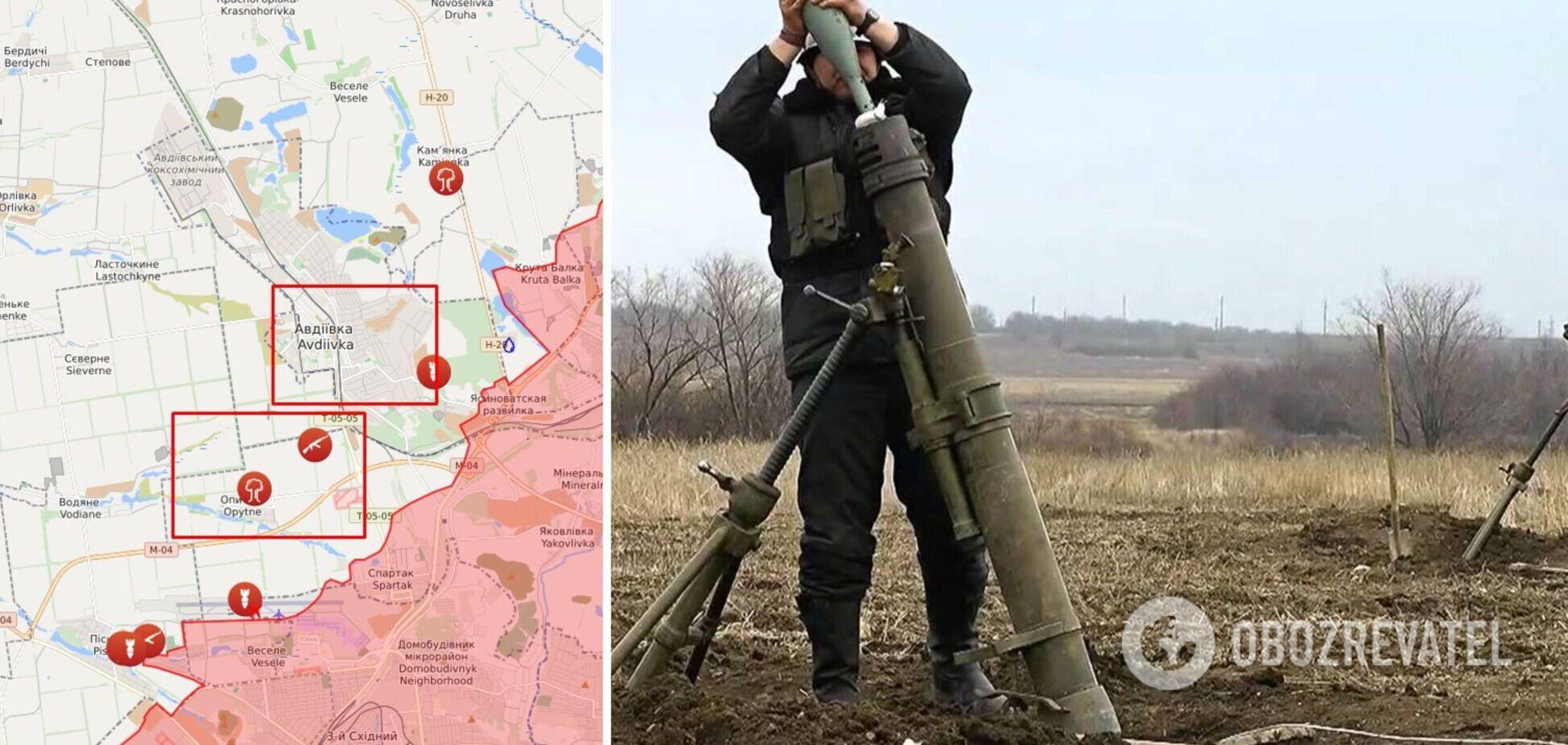 Найманці РФ на Донбасі відкрили артилерійський вогонь по ЗСУ і отримали відповідь. Карта
