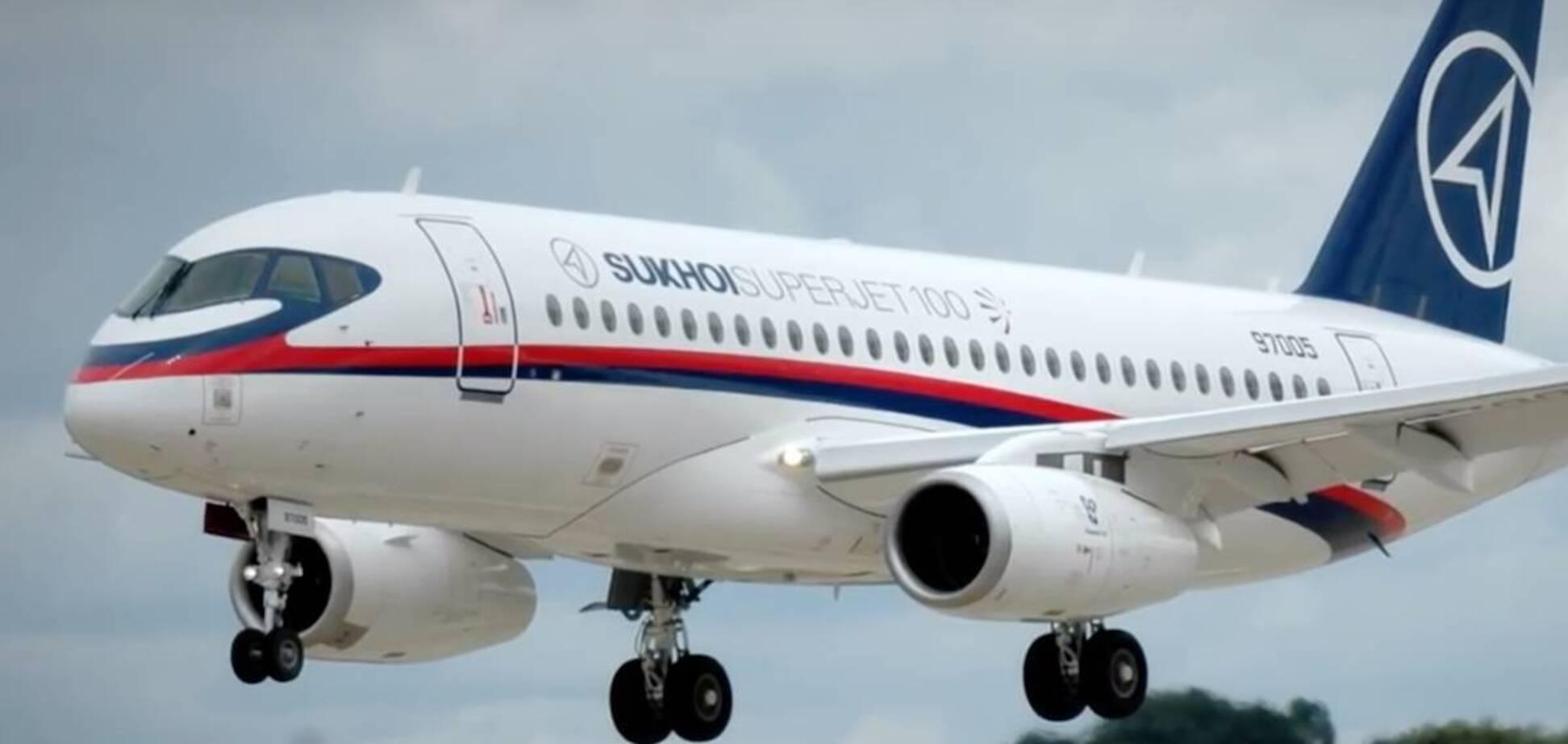 Найгірший рік для російських Sukhoi Superjet 100