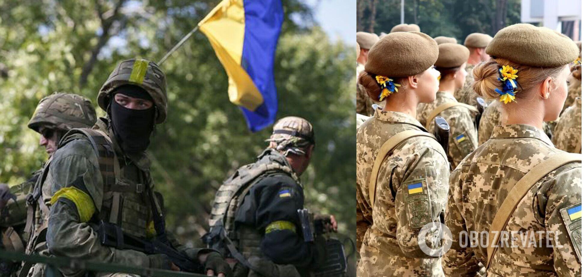 Українські військові з фронту привітали жінок із 8 Березня. Відео