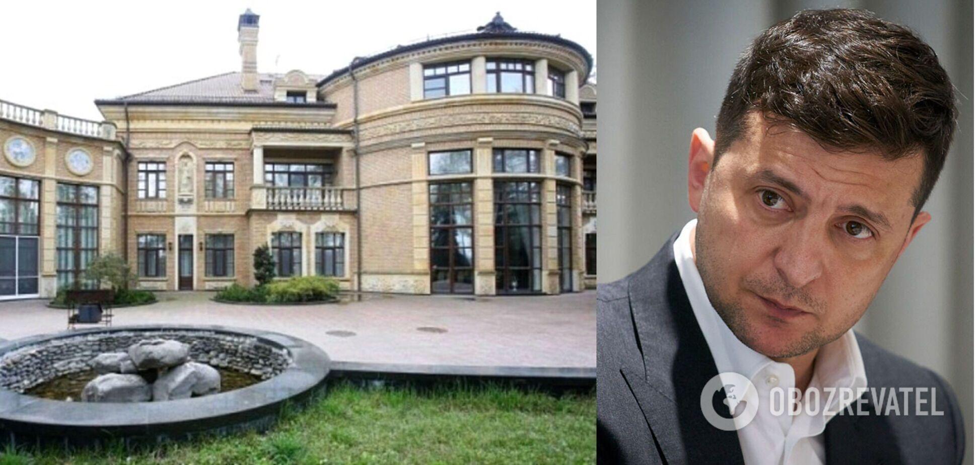 К резиденции Зеленского в Конча-Заспе стянули силовиков