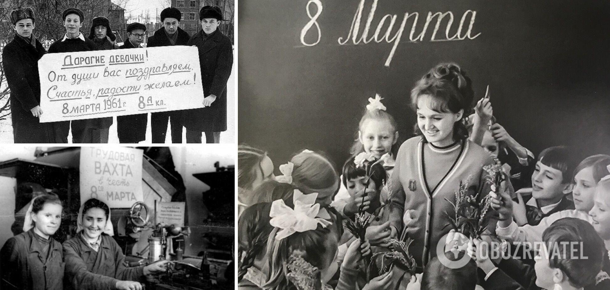 8 березня – фальшиве 'свято' в СРСР