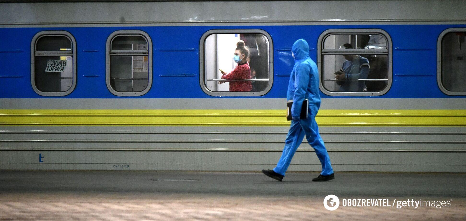 'Укрзалізниця' назначила дополнительные поезда в 'красную' зону Закарпатья. Список