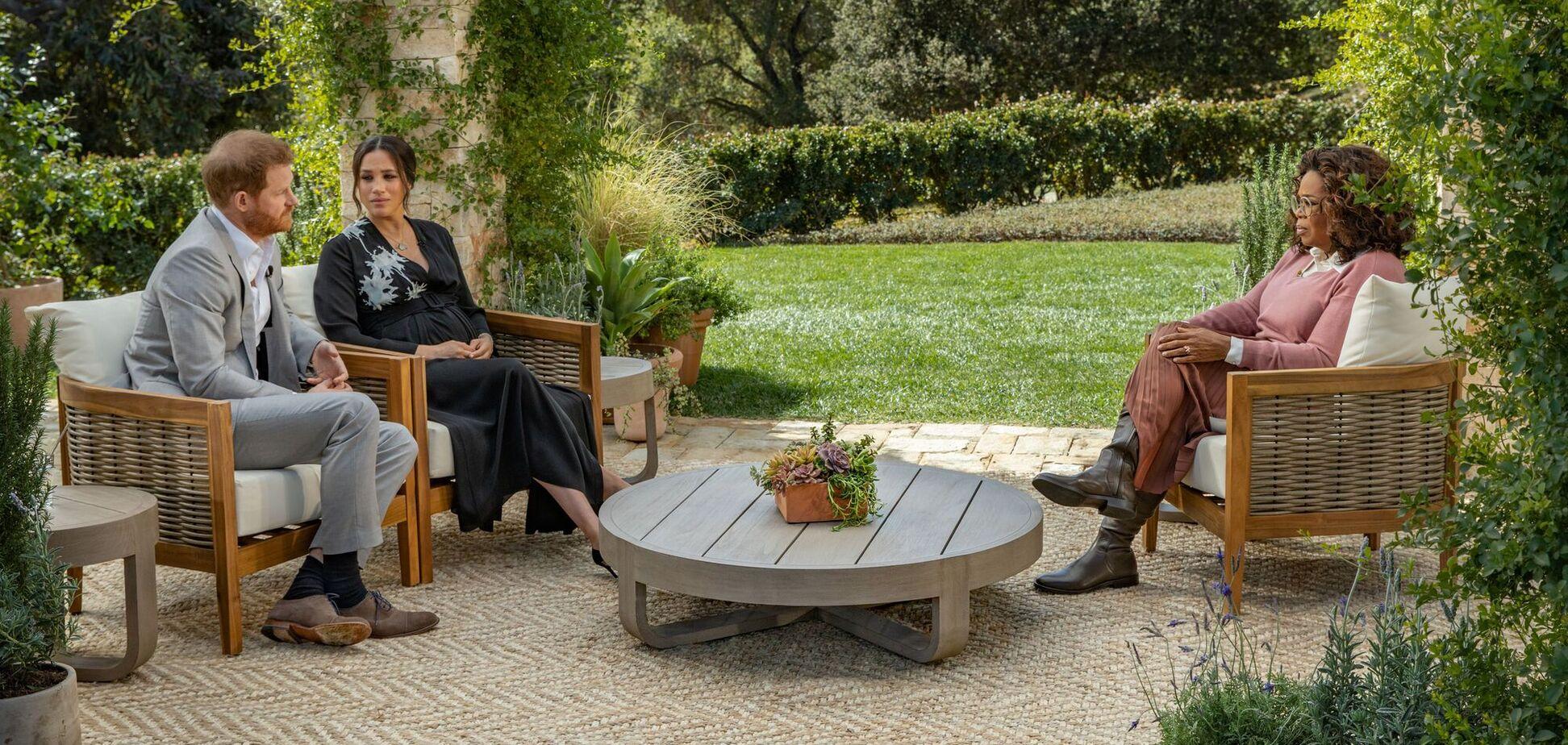 Головні одкровення Меган Маркл і принца Гаррі в інтерв'ю Опрі Вінфрі