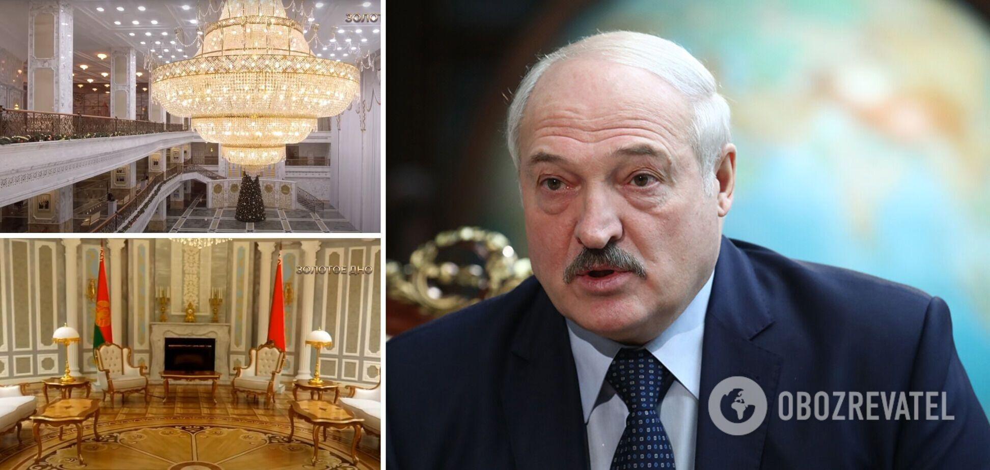NEXTA: Лукашенко витрачає десятки мільйонів доларів на місяць на 17 резиденцій і 'палац марнославства'. Фото та відео