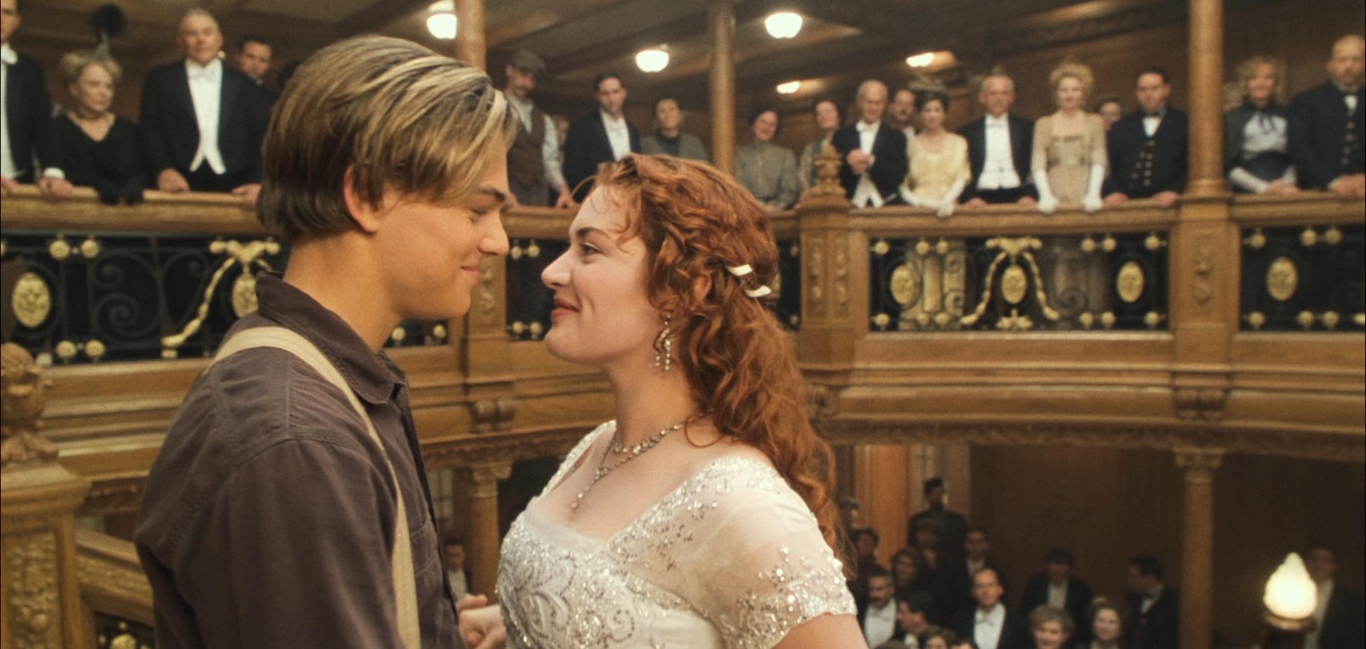 Кадр из фильма 'Титаник'