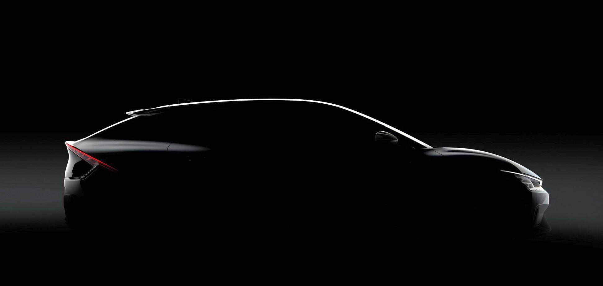 Kia показав тизери нового електромобіля EV6