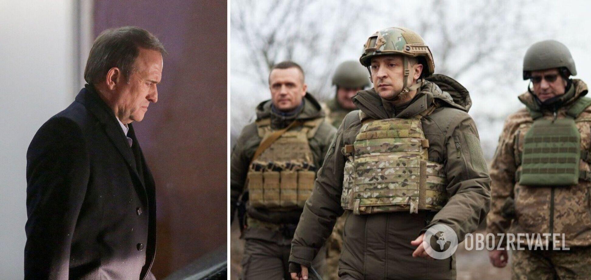 Зеленський: після санкцій проти Медведчука на Донбасі стало більше провокацій