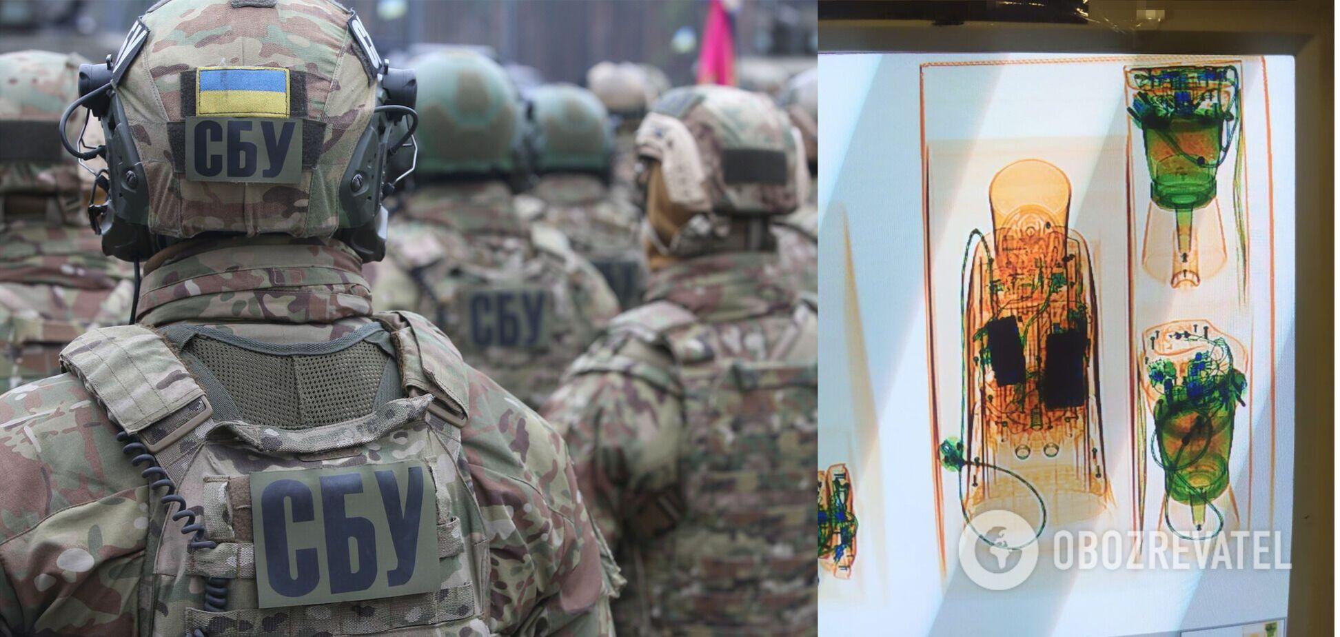 СБУ заблокувала контрабанду кокаїну в кавоварках із ЄС. Фото