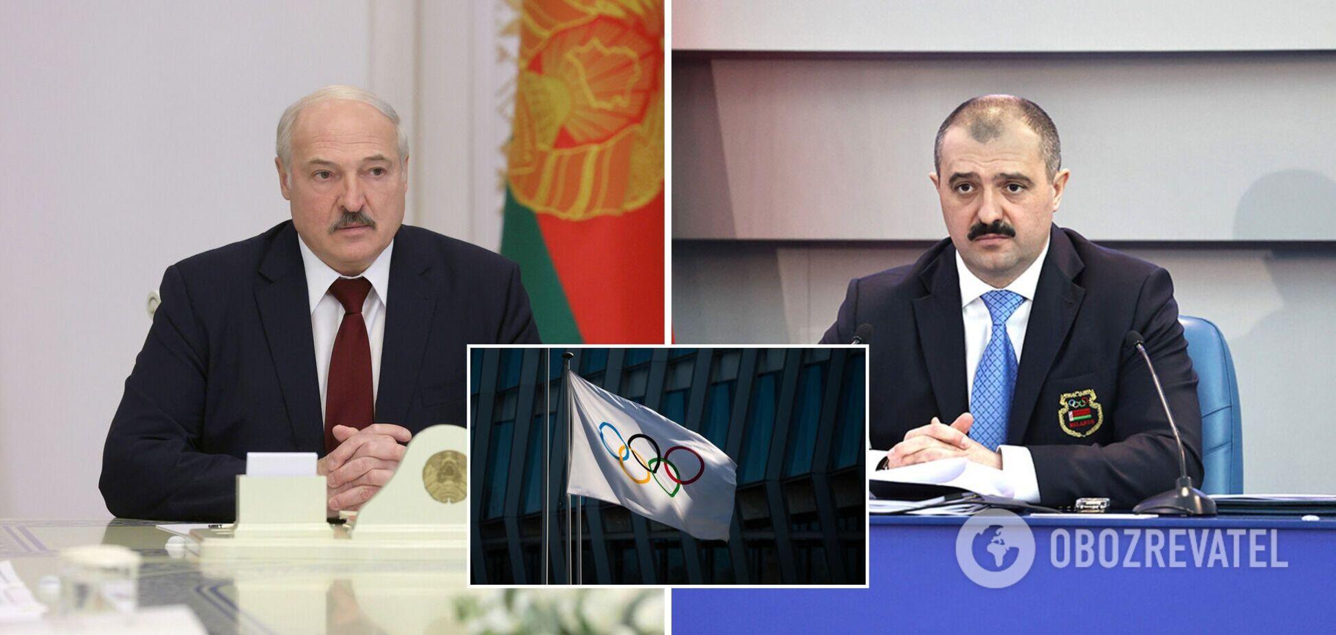 Новую должность сына Лукашенко отказались признать в МОК