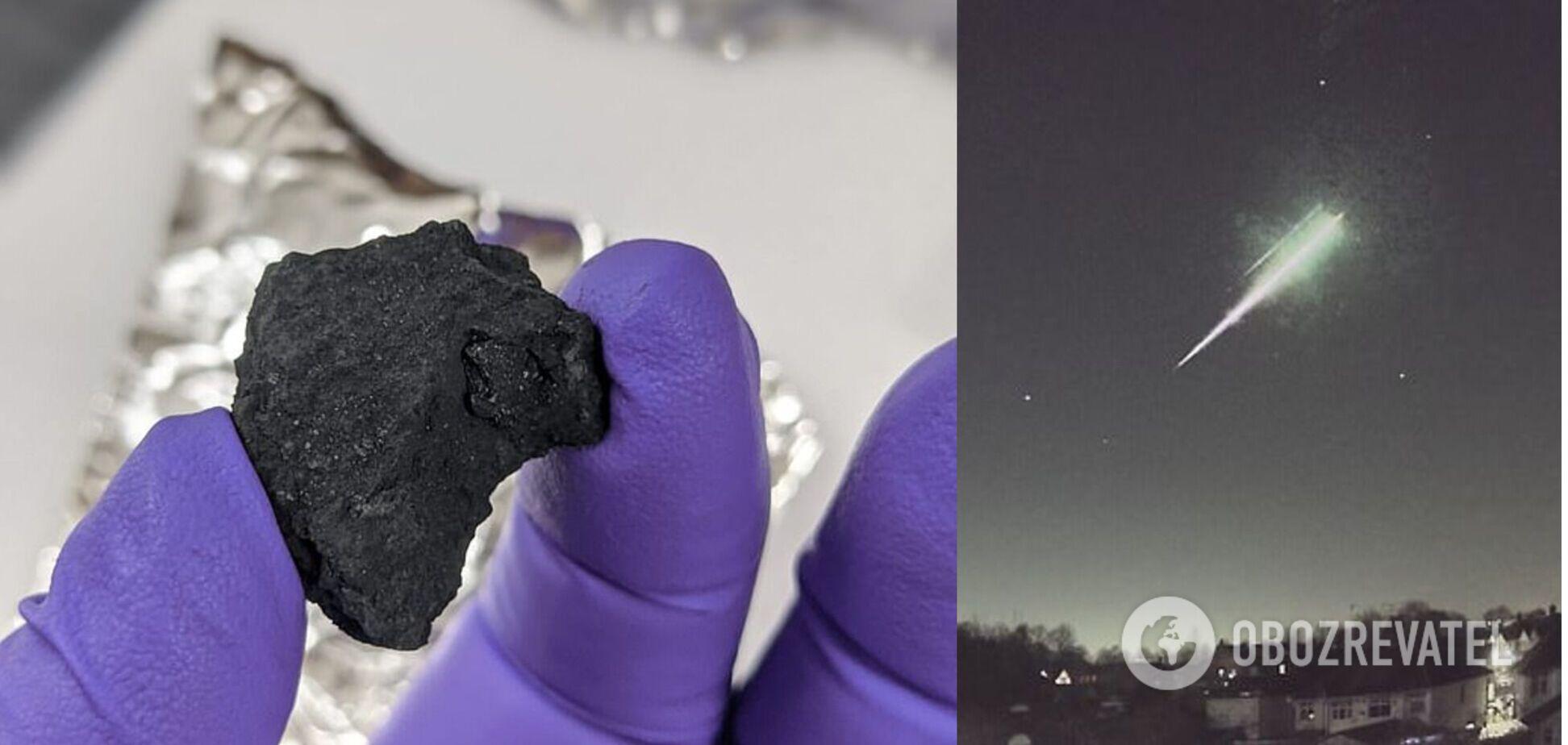 В Британии упал редкий метеорит. Фото и видео падения