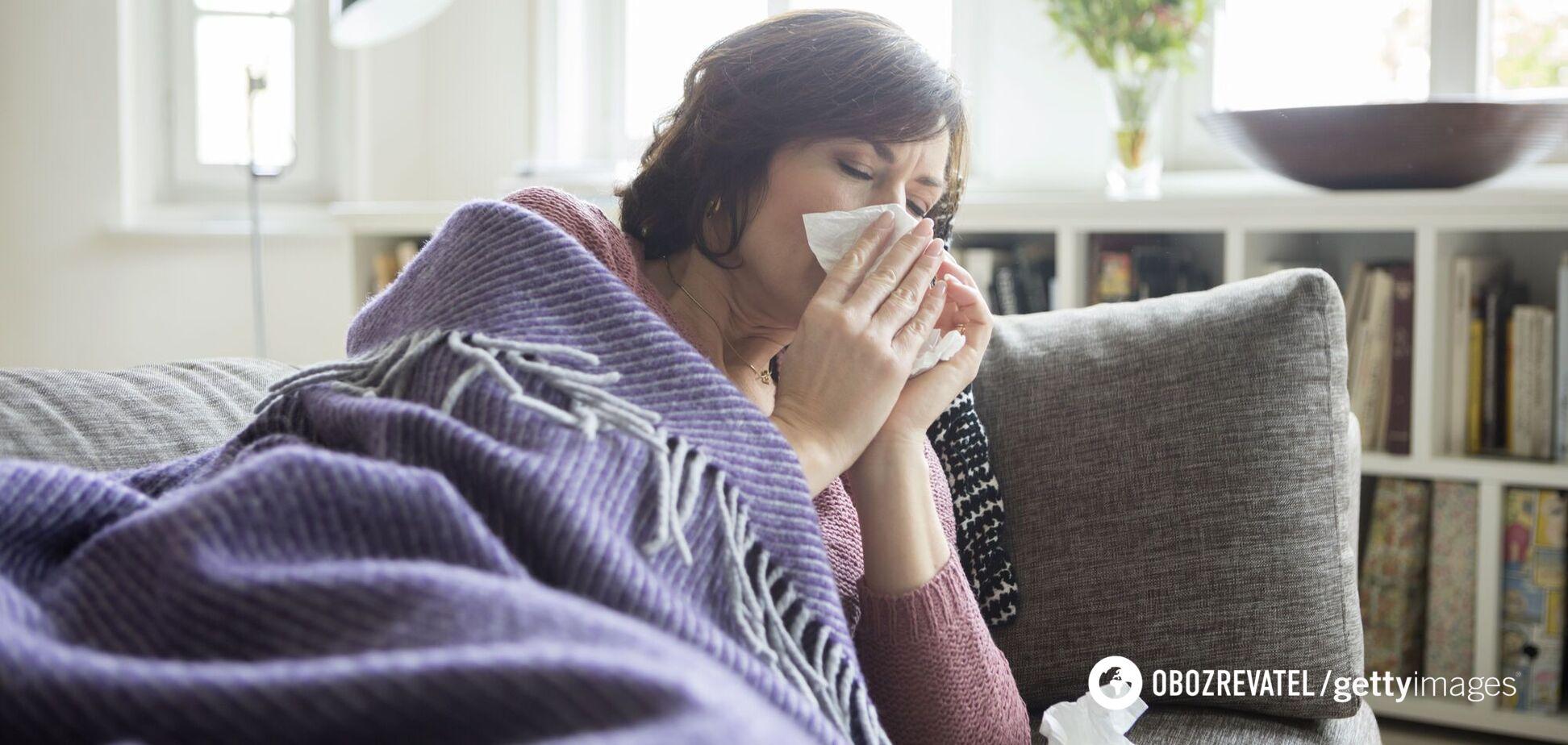 Сезонна захворюваність на грип
