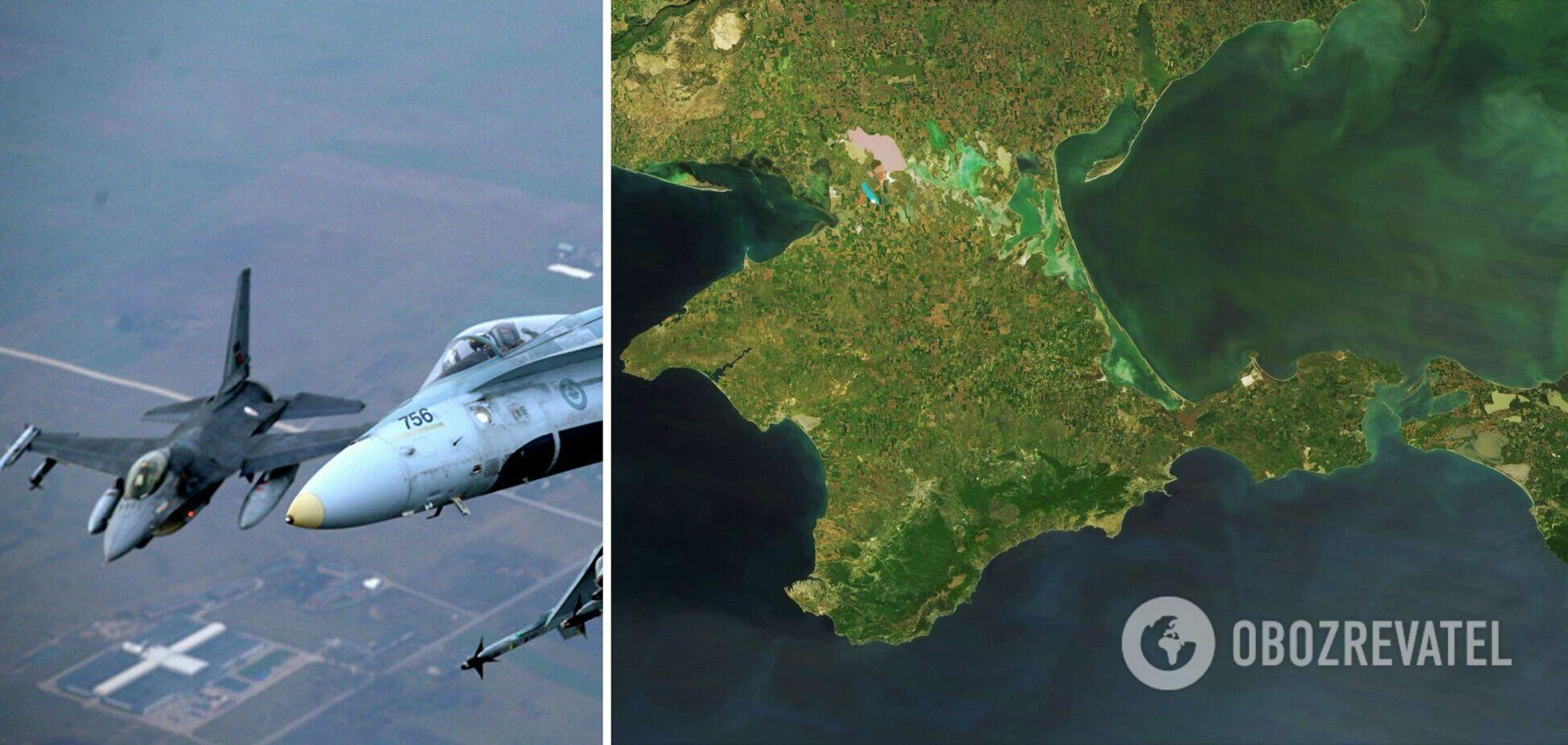 Україна запропонувала НАТО зупинити вторгнення Росії в повітряний простір біля Криму