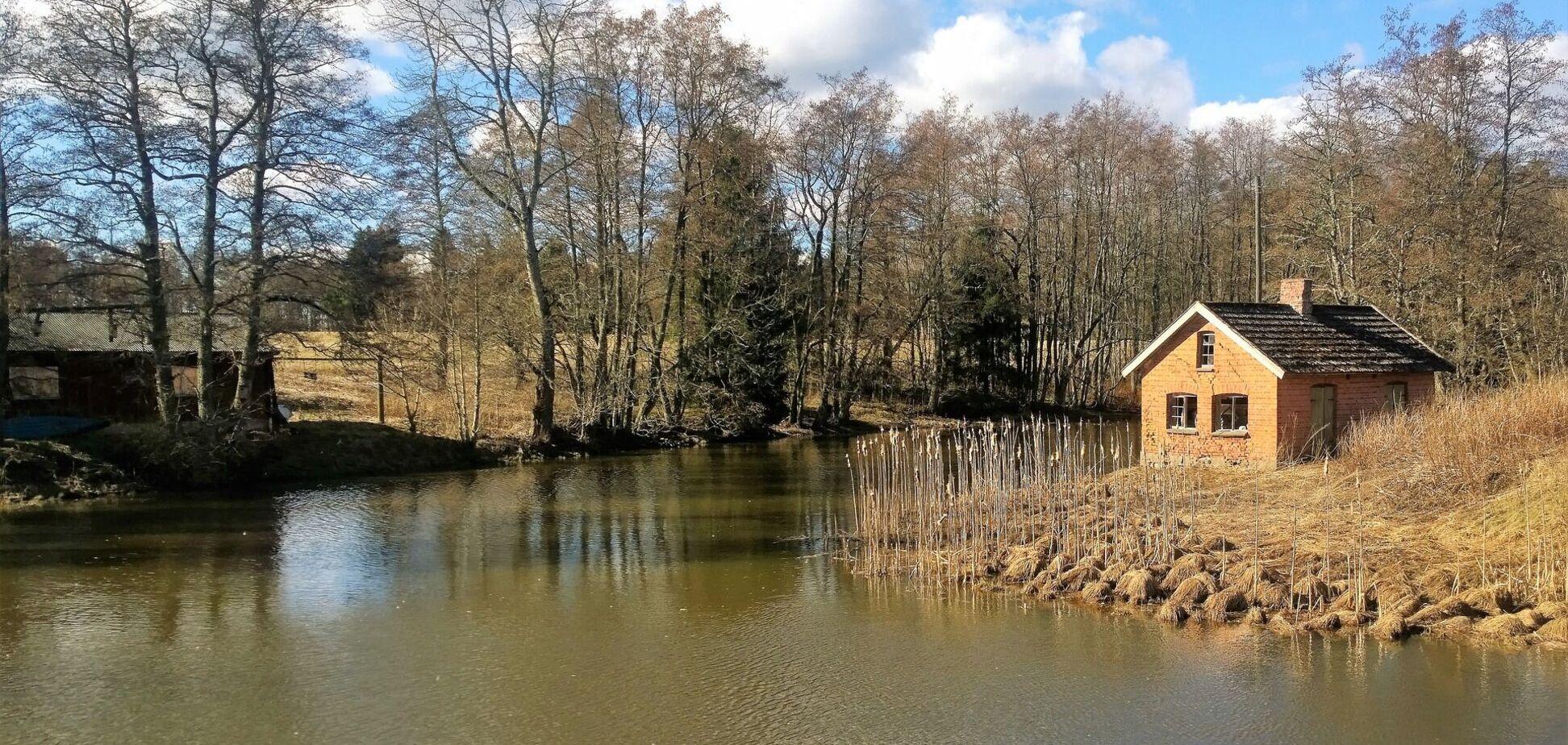 Річка навесні