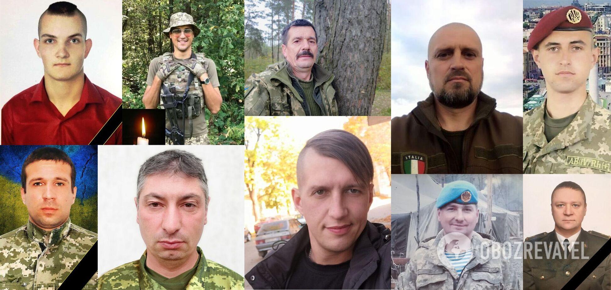 У березні 2021 року на Донбасі загинули 10 українських військовослужбовців.