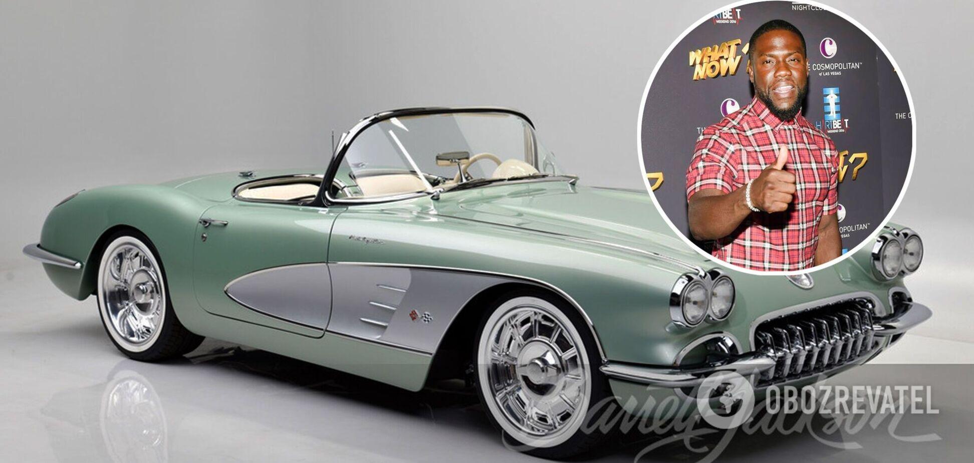 Кевин Харт приобрел рестомод Corvette за $825 тысяч