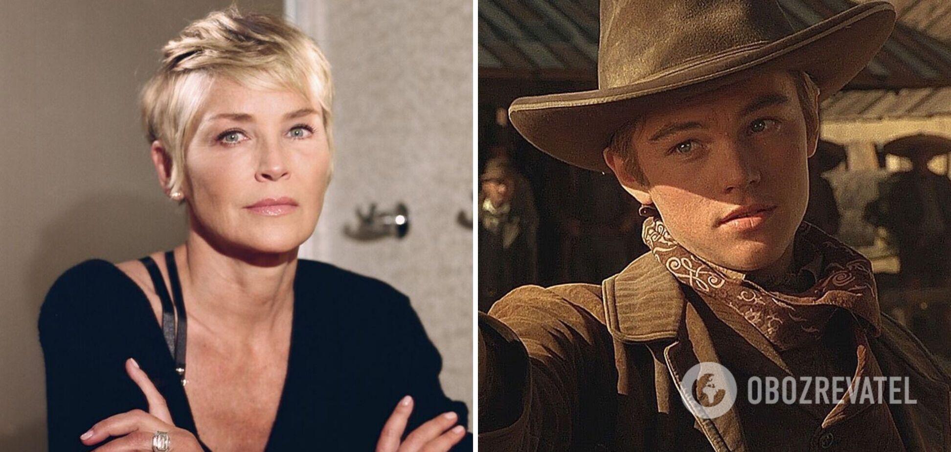Шерон Стоун зізналася, що сама заплатила Ді Капріо за роль