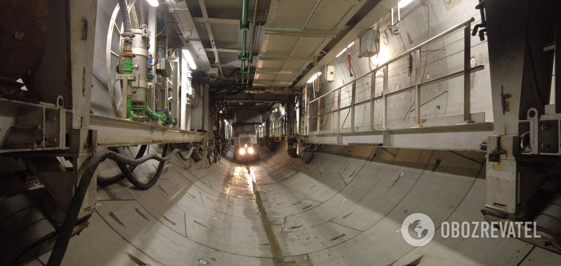 В Киеве, несмотря на локдаун, строят метро на Виноградарь