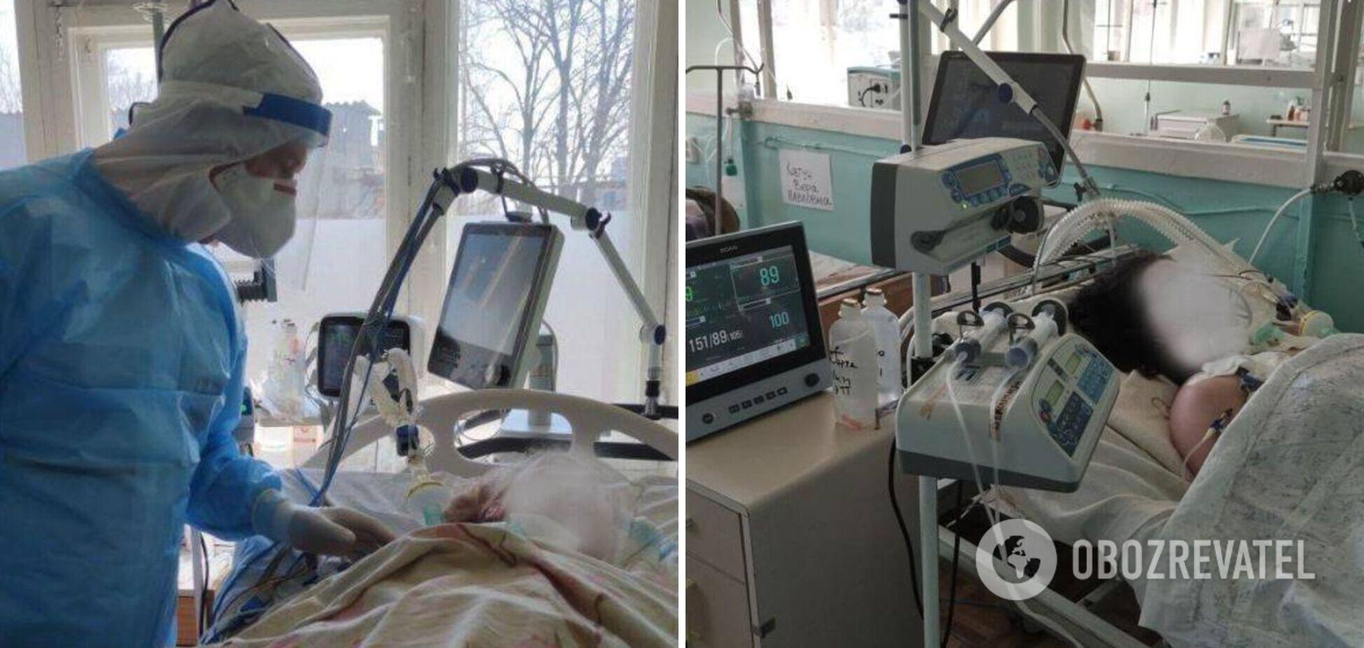 Борьба с COVID-19: реанимация перегружена втрое, медсестры падают в обмороки
